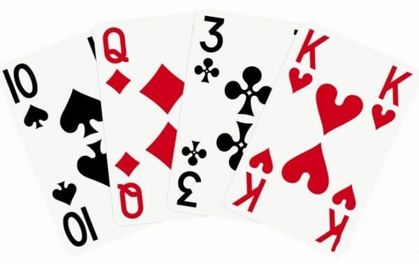 Kartenspiel Großdruck