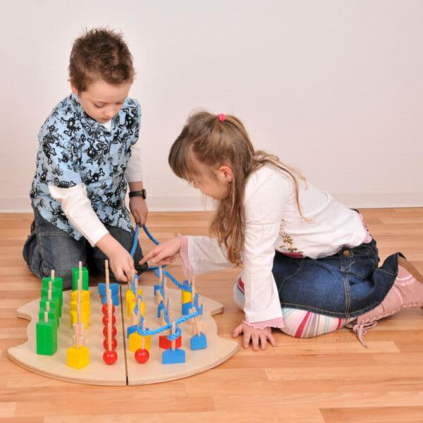 Holz-Steck-Lernspiel
