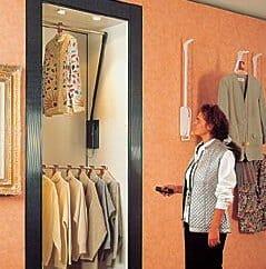 Elektrischer Garderobenlift mit Fernbedienung