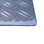Rollstuhlrampe Keilbrücke Detail Oberfläche