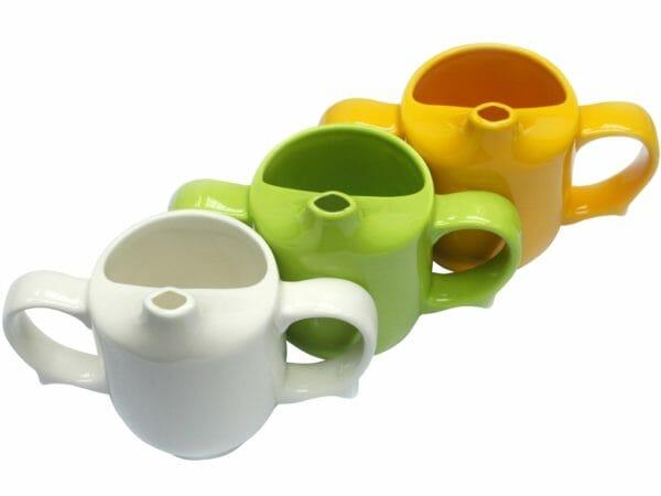 Keramikbecher Mit 2 Henkeln Und Mundstueck