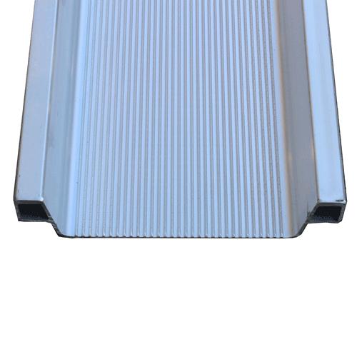 Rollstuhlrampe leicht Detail rutschsichere Oberfläche