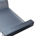 Rollstuhlrampe Mobil Klappbar 2 Teilig Detail Auflage Oben Seitlich