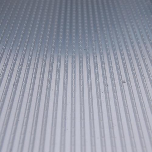 Rollstuhlrampe mobil klappbar 3-teilig Detail rutschfeste Fahrfläche