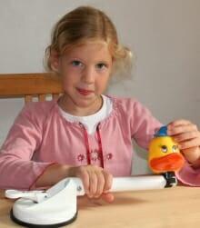 Mobiler Kinder Therapiegriff