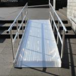 Geländer Für Rollstuhlrampe Fest Beidseitig Frontal