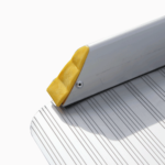 Rollstuhlrampe / Kofferrampe Detail Aufkantung Seitlich