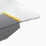 Rollstuhlrampe / Kofferrampe Detail Auflage Oben