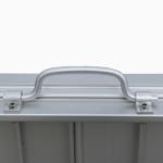 Rollstuhlrampe / Kofferrampe Detail Griff