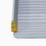 Rollstuhlrampe / Kofferrampe Detail Rutschfeste Oberfläche