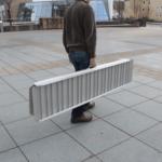 Rollstuhlrampe / Kofferrampe Transport