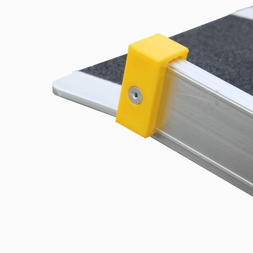 Rollstuhlrampe / Teleskoprampe 2-teilig Detail Auflage oben
