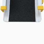 Rollstuhlrampe / Teleskoprampe 2 Teilig Detail Rutschsichere Oberfläche