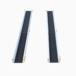 Rollstuhlrampe / Teleskoprampe 2 Teilig Frontal