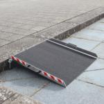 Rollstuhlrampe Keilbrücke Variabel Diagonal