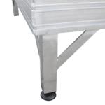 Rollstuhlrampe Frei Konfigurierbar Detail Stützfuß