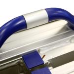 Rollstuhlrampe / Flächenrampe Klappbar Detail Griff