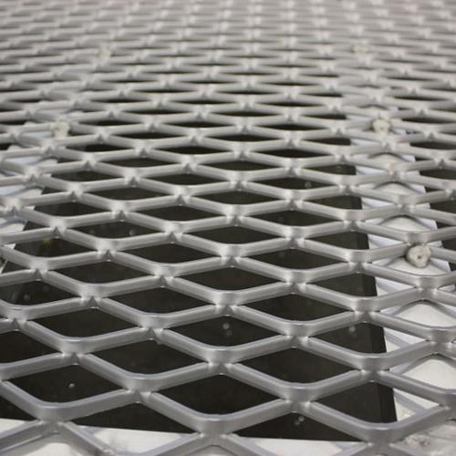 Rollstuhlrampe / Flächenrampe klappbar Detail Lauffläche