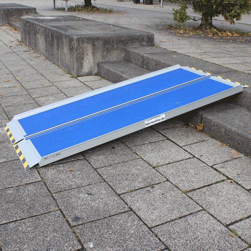 Rollstuhlrampe / Kofferrampe Leicht Au Treppe