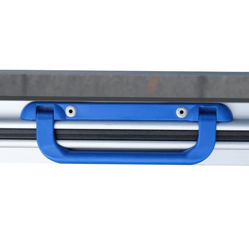 Rollstuhlrampe / Kofferrampe leicht Detail Griff