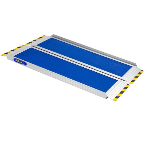 Rollstuhlrampe / Kofferrampe leicht diagonal