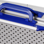 Rollstuhlrampe Klappbar Und Teleskopierbar Detail Griffe