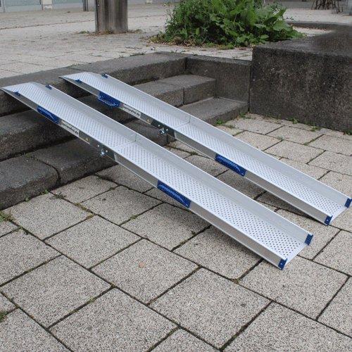 Rollstuhlrampe Klappbar An Treppe