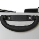 Rollstuhlrampe / Flächenrampe 2 Teilig Detail Griff