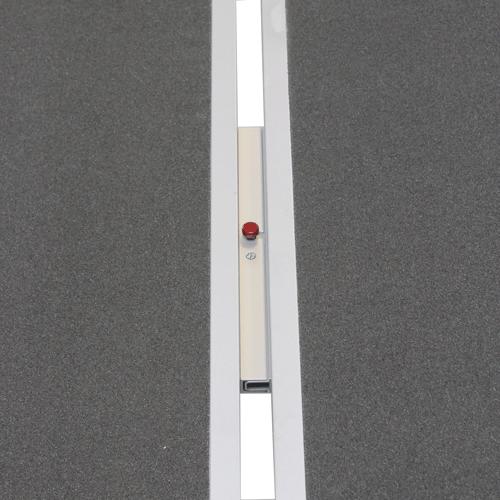 Rollstuhlrampe / Flächenrampe 2-teilig Detail Steckverbindung zusammen
