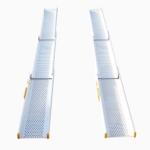 Rollstuhlrampe / Teleskoprampe 3 Teilig Frontal