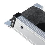 Rollstuhlrampe / Teleskoprampe Breit 3 Teilig Detail Auflage Oben