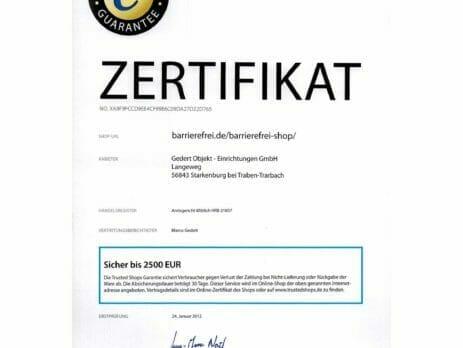 Sicher einkaufen: Trusted Shop Zertifikat