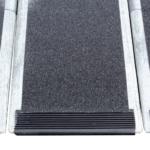 Rollstuhlrampe Faltbar Extrem Leicht Detail Auflage Unten