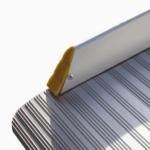 Rollstuhlrampe / Flächenrampe Klappbar Leicht Detail Aufkantung Seitlich