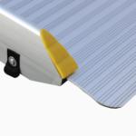 Rollstuhlrampe Fllächenrampe Klapp UND Faltbar Detail Auflage Oben