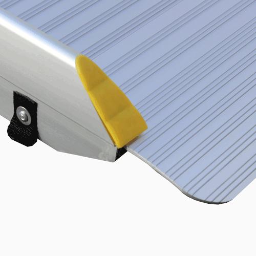 Rollstuhlrampe Fllächenrampe klapp- UND faltbar Detail Auflage oben
