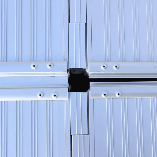 Rollstuhlrampe Fllächenrampe klapp- UND faltbar Detail Klappkreuz