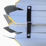 Rollstuhlrampe Fllächenrampe Klapp UND Faltbar Detail Fixierung