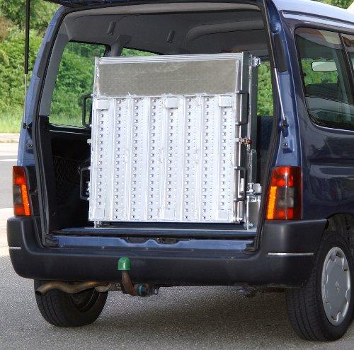 Rollstuhlrampe / Flächenrampe Auto 3 Teilig Eingeklappt