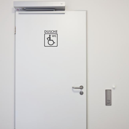Dorma ED250 an Behinderten WC