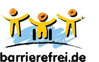 Das Logo von barrierefei.de