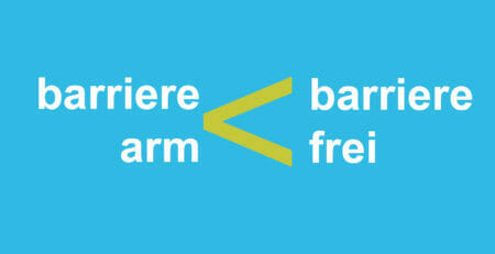 barrierearm < barrierefrei