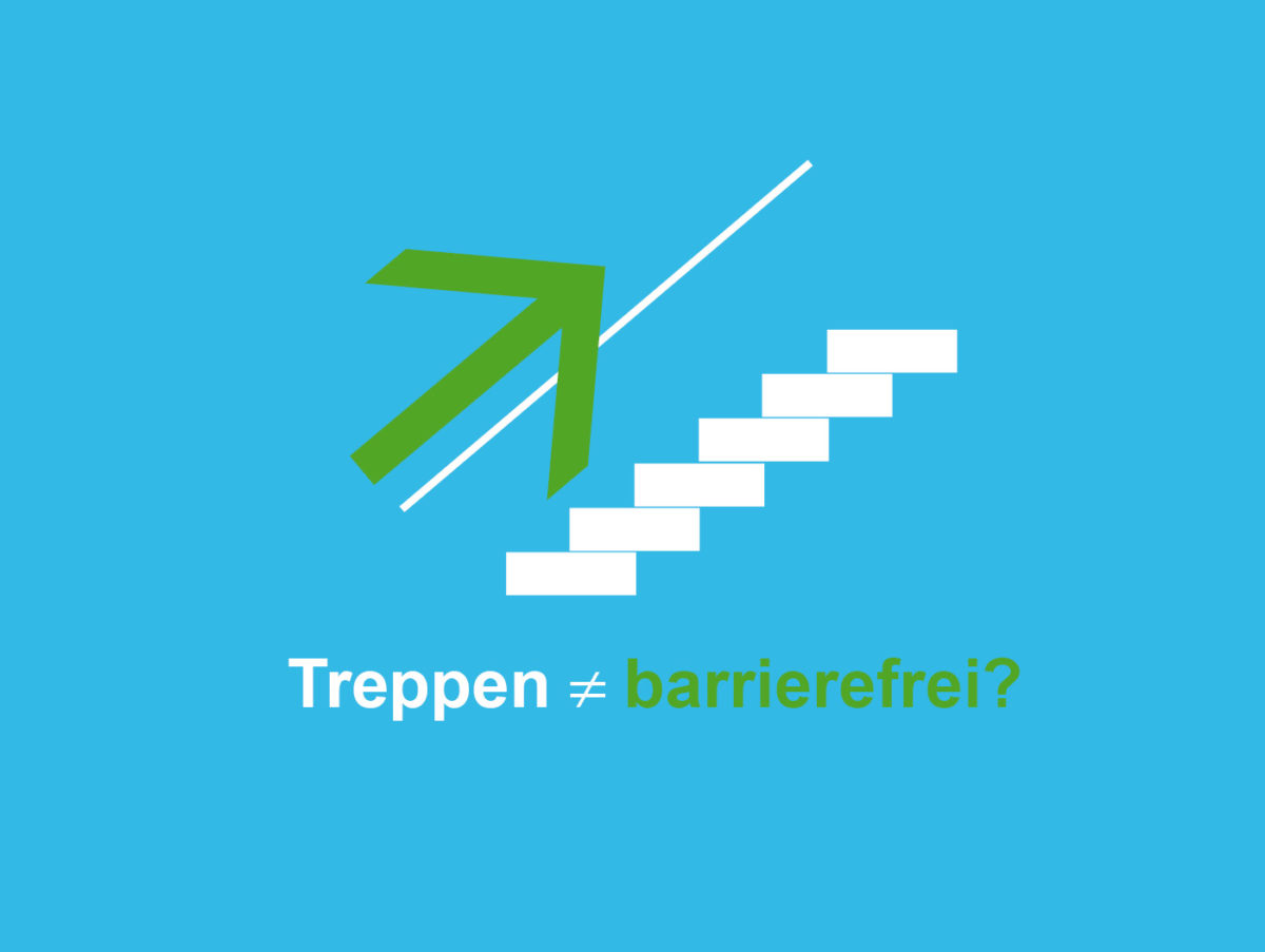 treppe barrierefrei