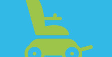 Grafik: E-Rollstuhl