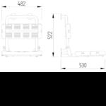 Duschsitz Mit Rückenlehne Edelstahl Wandmontage Zeichnung