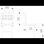 Duschsitz Mit Rückenlehne Edelstahl Wandmontage Bis 200kg Zeichnung